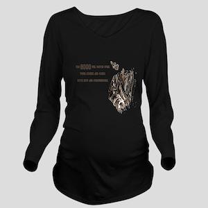 smallersz Long Sleeve Maternity T-Shirt
