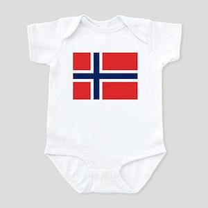 Flag of Norway Infant Bodysuit