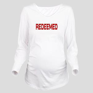 Redeemed Long Sleeve Maternity T-Shirt
