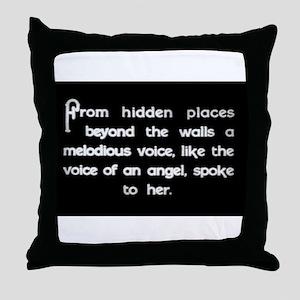 """Voice of an Angel"" Throw Pillow"