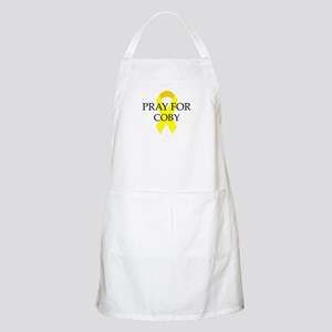 Pray for Coby BBQ Apron