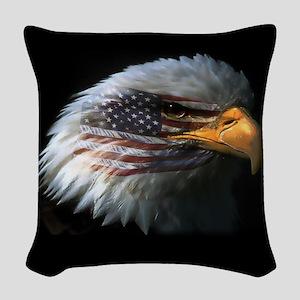 EagleRight Woven Throw Pillow