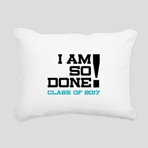 Graduation class of 2017 Rectangular Canvas Pillow