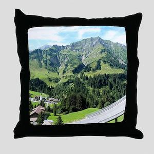 Beautiful Austria Throw Pillow