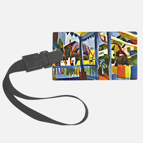 Terrace of the Country House in  Luggage Tag