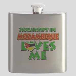 Somebody in Mozambique Loves me Flask