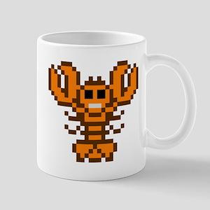 8bit lobster calico 11 oz Ceramic Mug