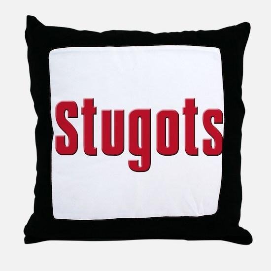 Stugots Throw Pillow