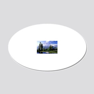 Reflection 20x12 Oval Wall Decal