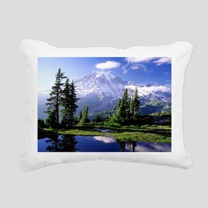 Reflection Rectangular Canvas Pillow