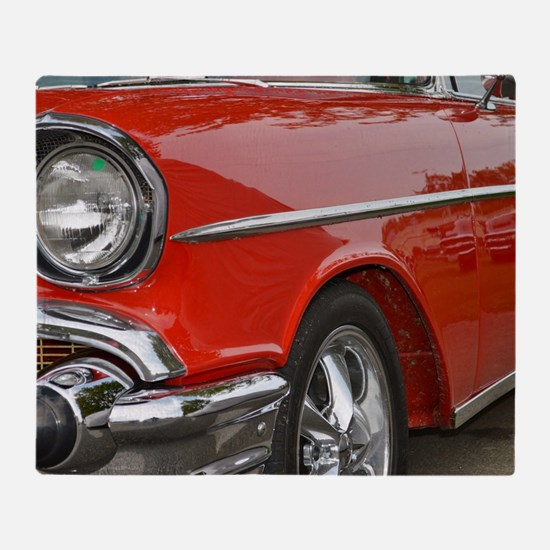 Classic Car Throw Blanket
