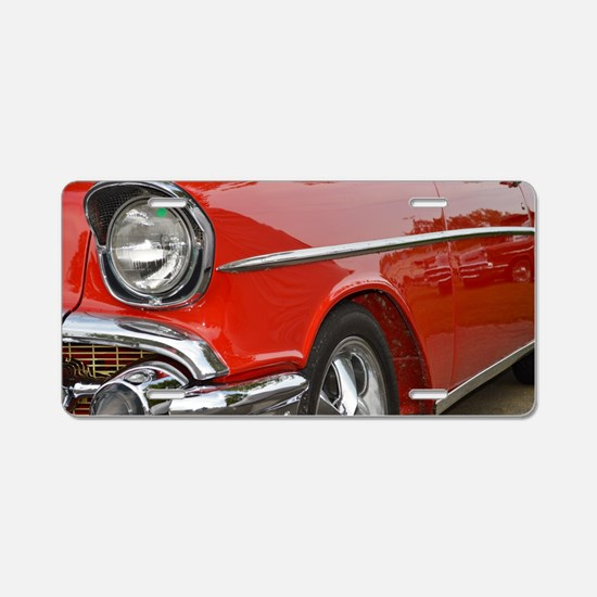 Classic Car Aluminum License Plate