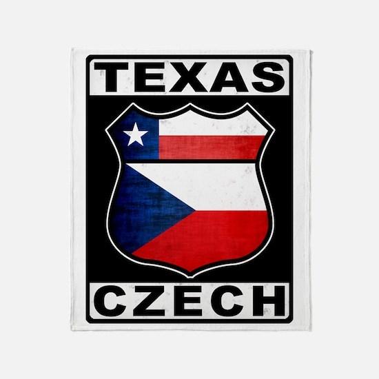 Texas Czech American Throw Blanket