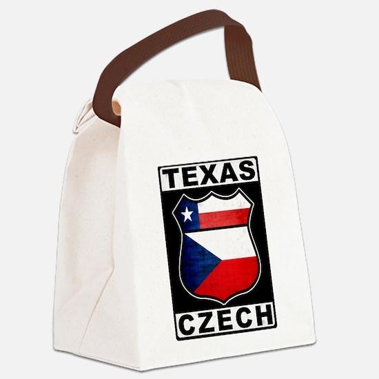 Texas Czech American Canvas Lunch Bag