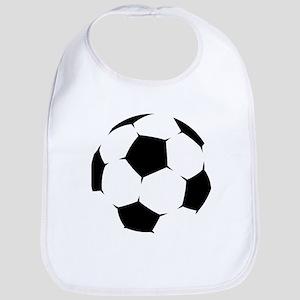 Black Soccer Ball Bib