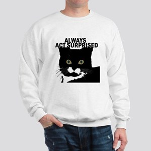 tuxedocat02 Sweatshirt