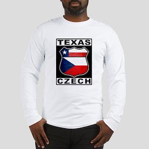 Texas Czech American Long Sleeve T-Shirt