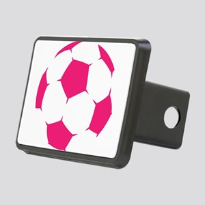 Pink Soccer Ball Hitch Cover