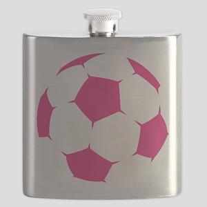 Pink Soccer Ball Flask