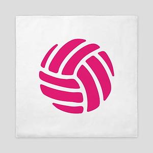 Pink Volley Ball Queen Duvet