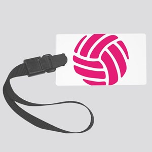 Pink Volley Ball Luggage Tag