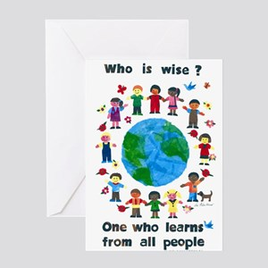 Who is Wise - Greeting Cards
