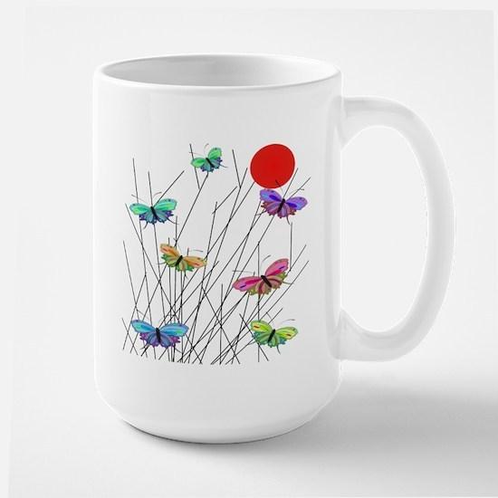 Butterflies Large Mug