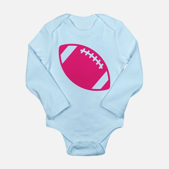 Pink Football Body Suit