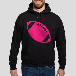 Pink Football Hoodie
