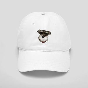 mini_schnauzer_face001 Baseball Cap