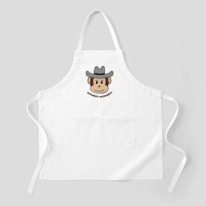 Cowboy Monkey BBQ Apron
