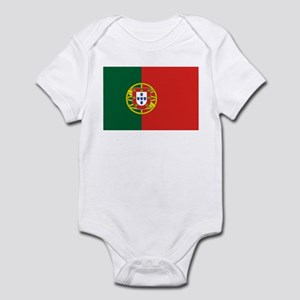 Flag of Portugal Infant Bodysuit