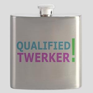 qualified twerker Flask