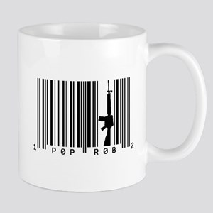 Pop Robs M16 Barcode Art Mugs