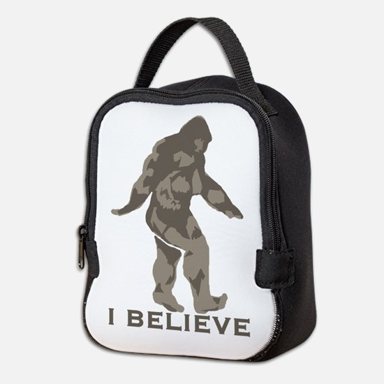 Believe in the Bigfoot Neoprene Lunch Bag