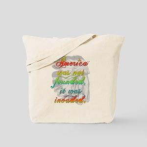 America Invaded Tote Bag