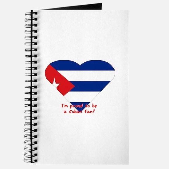 Cuban flag fan Journal