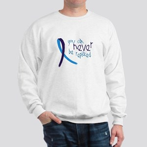 Suicide Awareness-Never Replaced Sweatshirt