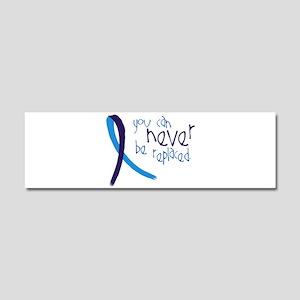 Suicide Awareness-Never Replaced Car Magnet 10 x 3