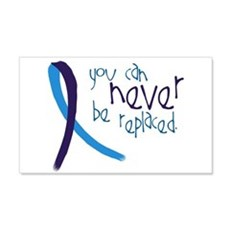 Suicide Awareness-Never Replaced Wall Decal