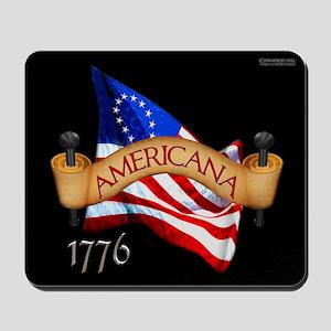 1776 Revolutionary Flag 006 Mousepad