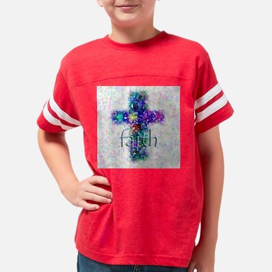 FaithCross Youth Football Shirt