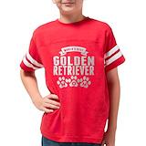 Golden retriever mom Football Shirt