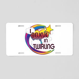 I Believe In Twirling Cute Believer Design Aluminu