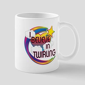 I Believe In Twirling Cute Believer Design Mug