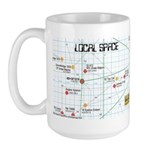 Star Map Large Mug