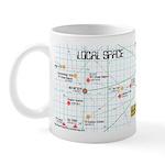 Star Map Mug