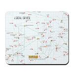 Star Map Mousepad