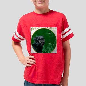 AffenpinscherPeace Youth Football Shirt