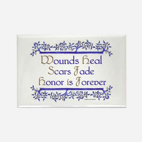 Honor is forever Rectangle Magnet
